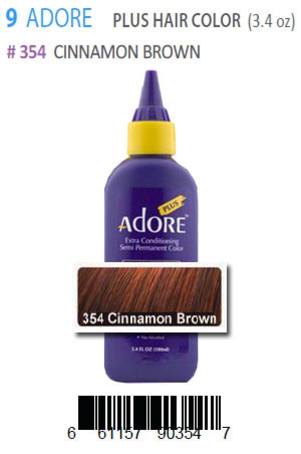 Adore Box9 Plus Hair Color 354 Cinnamon Brown Adore Hair