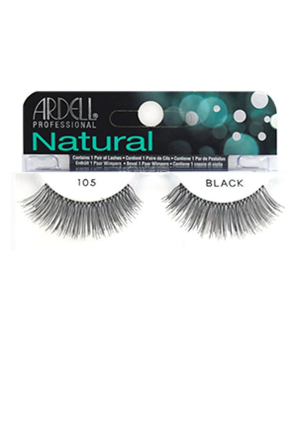 7263e968686 Ardell] Natural Eyelashes #105 (Black) - MAKE UP / MANICURE / HAIR COLOR