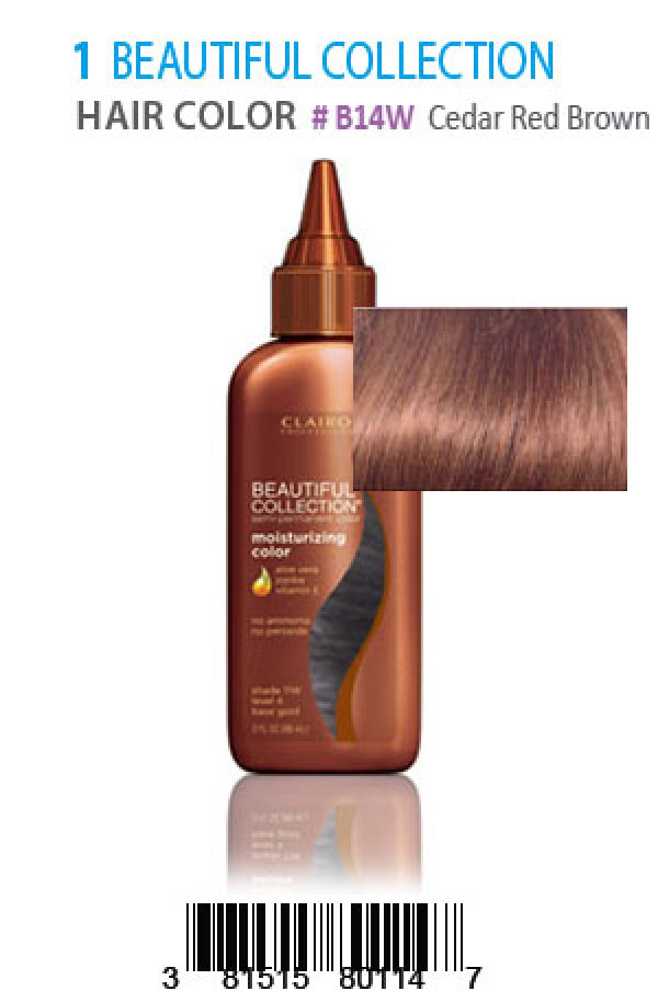 Beautiful Collection Box1 Hair Color B14wcedar Red Brown