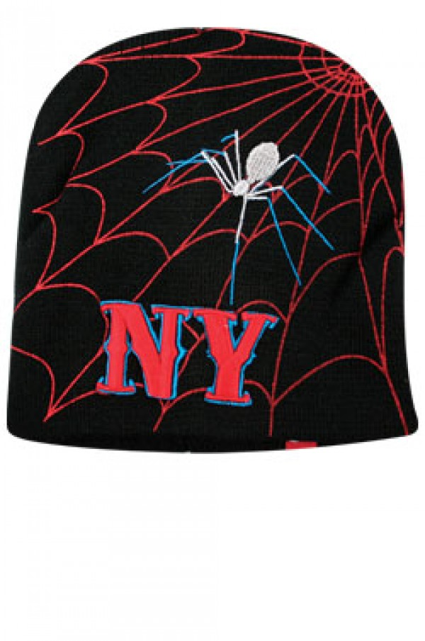 Ny Knit Spider Cap Be1045 Winter Items Accessories