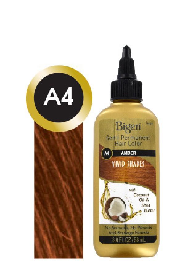 Bigen Box12 Semi Permanent Color Vivid Shades A4 Amber Bigen