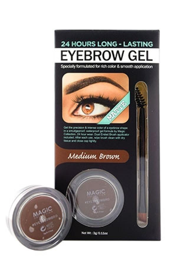 Magic Eye1010mbro Waterproof Eyebrow Gel M Brown12ds Make