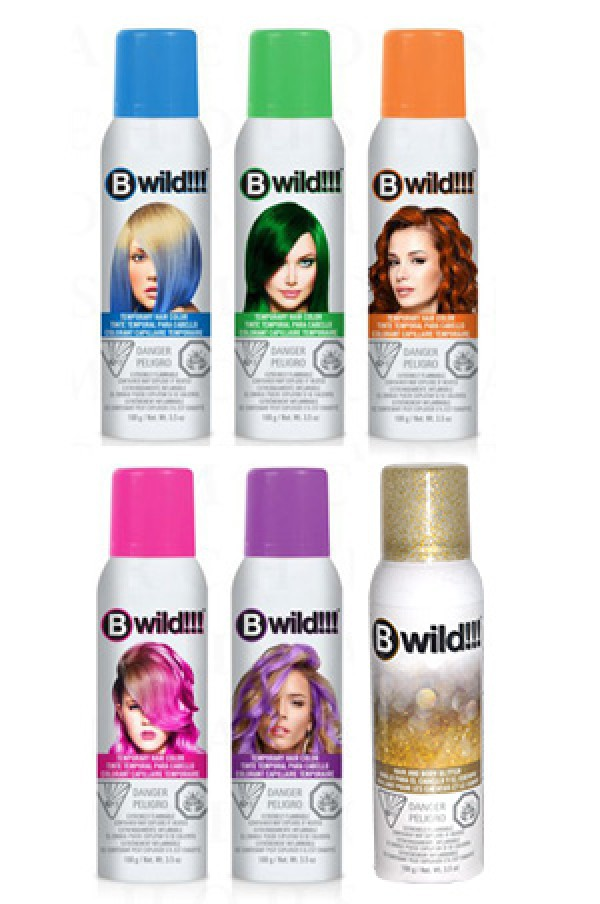 Jerome Russell Box6 B Wild Color Spray Brands Starting With J