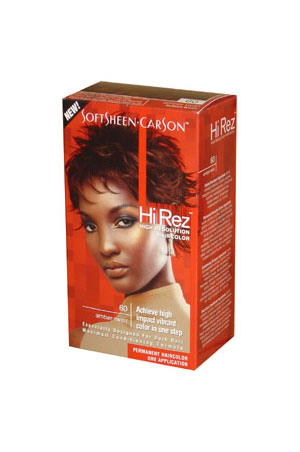 Hi Rez Hair Color Kit60 Amber Twist Soft Sheen Carson Hair