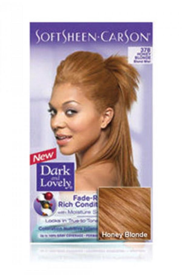 Dark Lovely Box 4 Soft Sheen Carson 378 Honey Blonde Dark