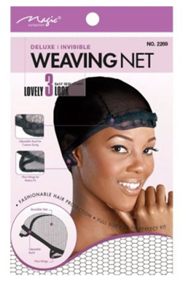 Magic Collection 2269 Deluxe Invisible Weaving Net Dz Wigweave